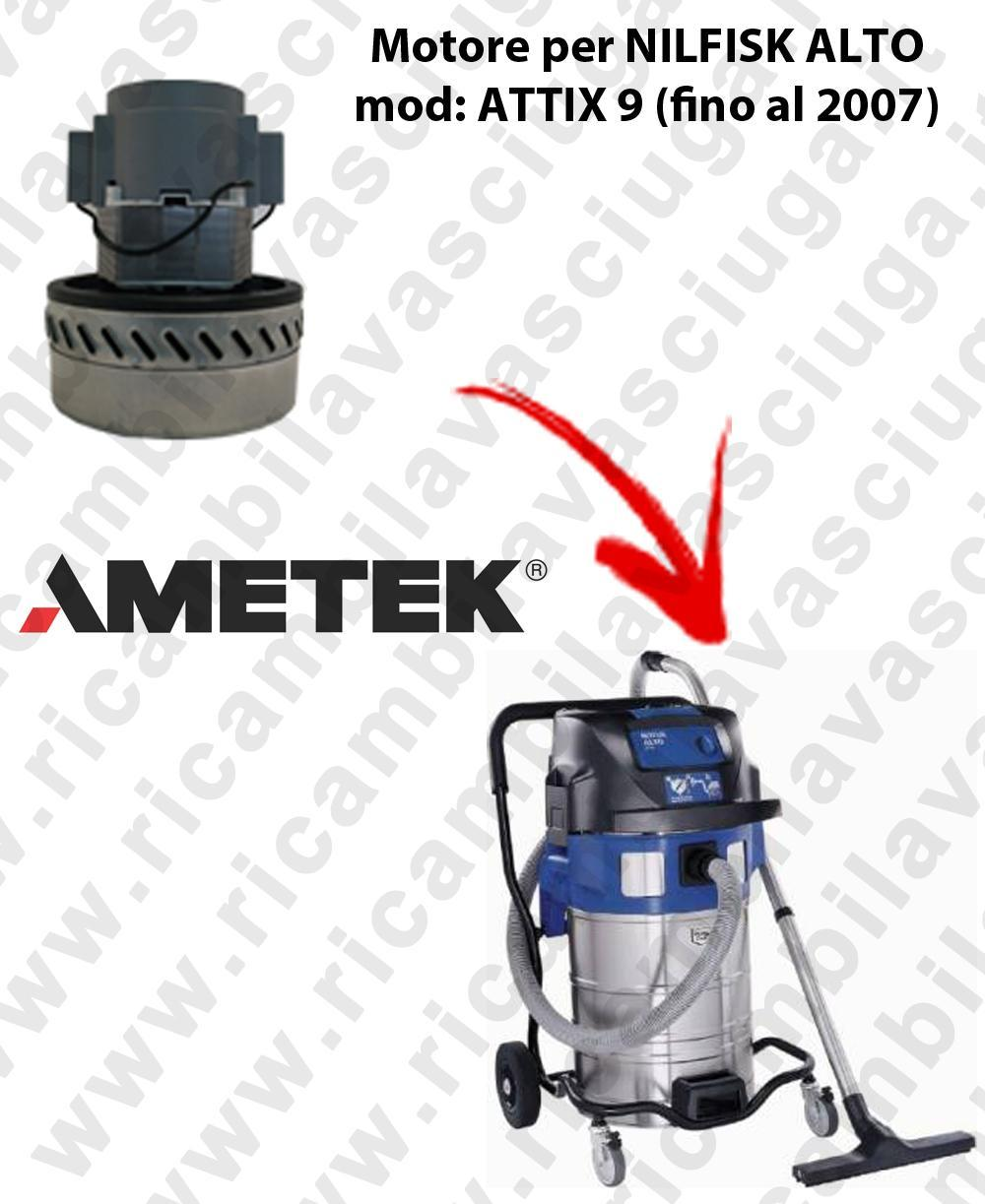 ATTIX 9 (tilll 2007) Ametek Vacuum Motor for vacuum cleaner NILFISK ALTO