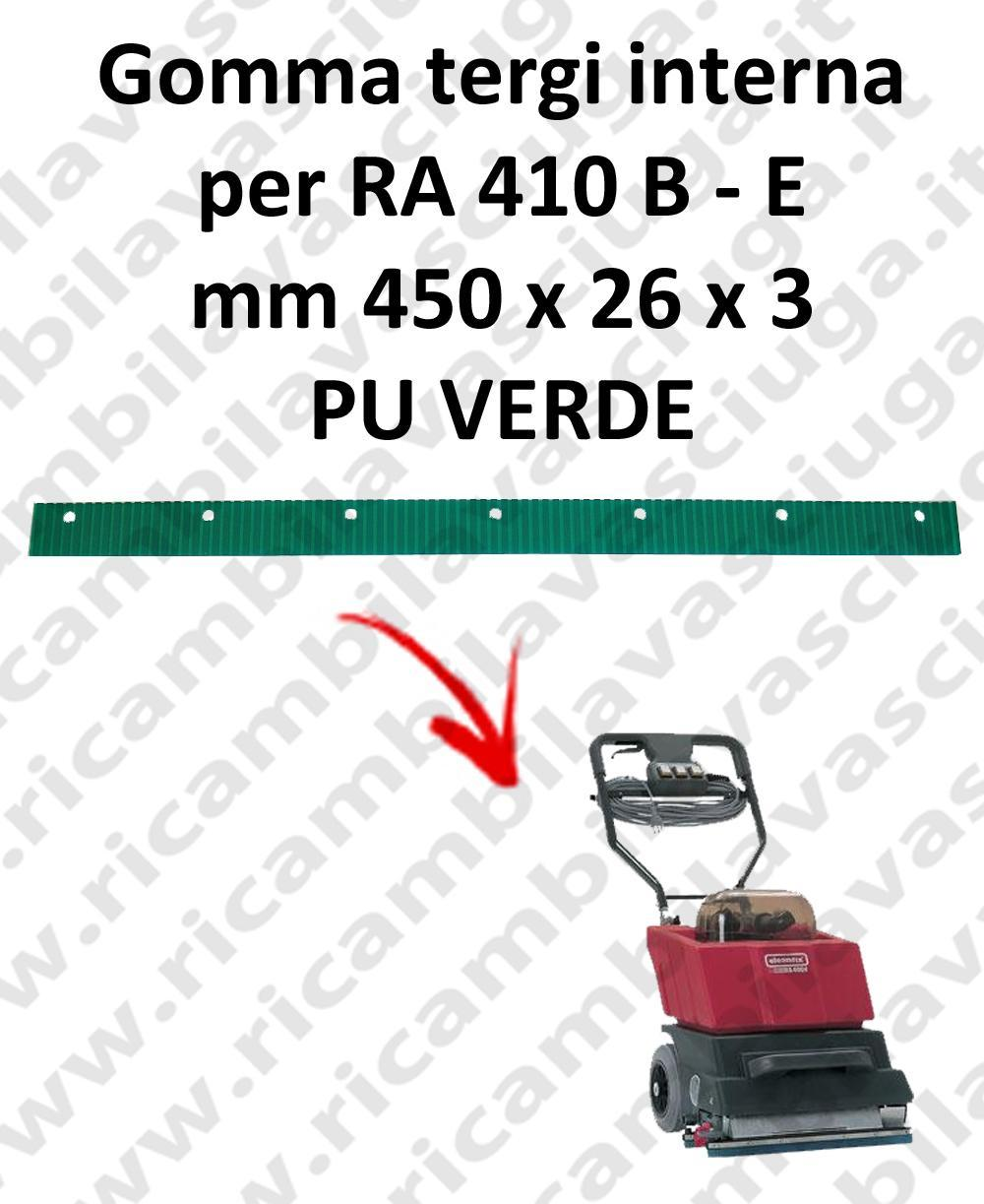 RA 410 B - E Inner Squeegee rubber for CLEANFIX accessories, reaplacement, spare parts,o scrubber dryer squeegee