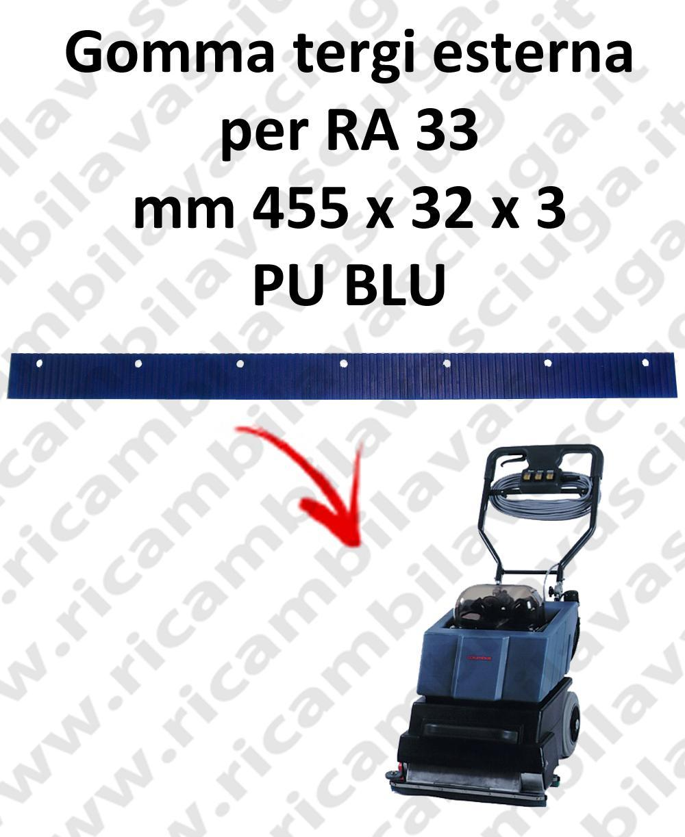RA 33  Outer Squeegee rubber for COLUMBUS accessories, reaplacement, spare parts,o scrubber dryer squeegee