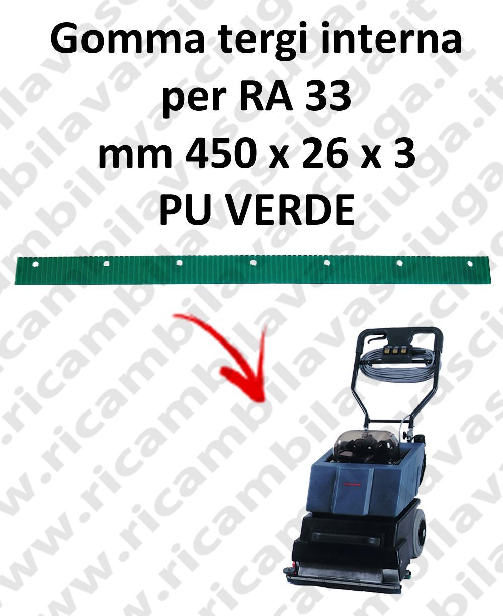 RA 33 Inner Squeegee rubber for COLUMBUS accessories, reaplacement, spare parts,o scrubber dryer squeegee