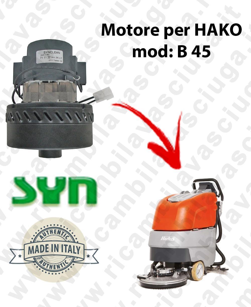 B 45 Vacuum motor Synclean for scrubber dryer HAKO