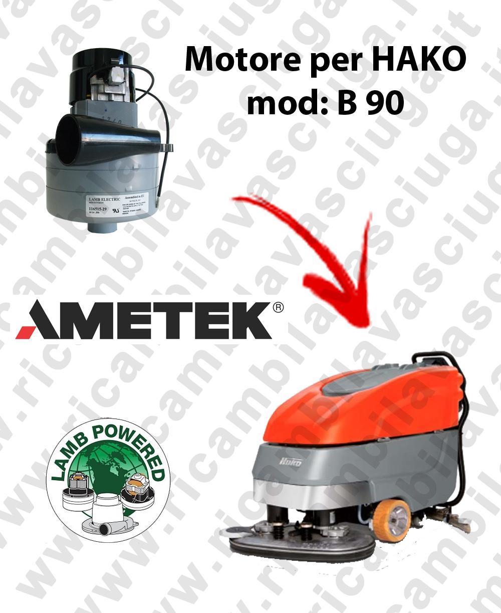 B 90 LAMB AMETEK vacuum motor for scrubber dryer HAKO