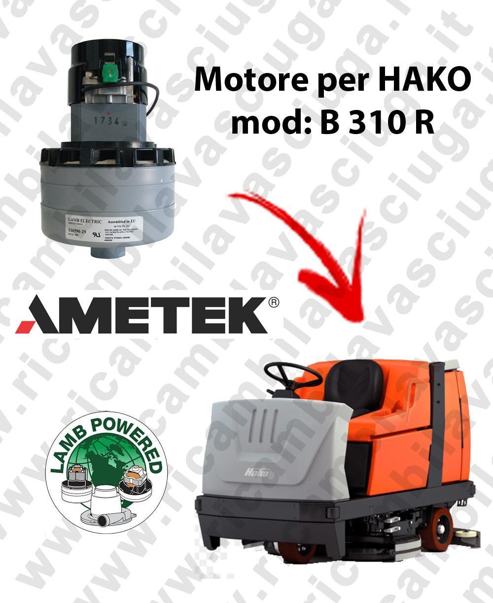 B 310 R LAMB AMETEK vacuum motor for scrubber dryer HAKO