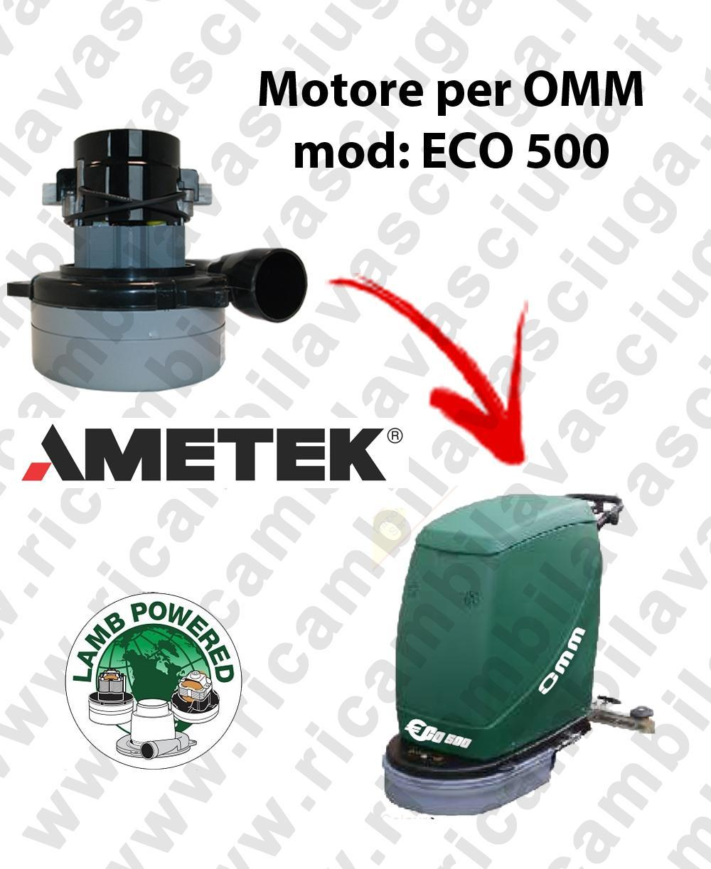 ECO 500 LAMB AMETEK vacuum motor for scrubber dryer OMM