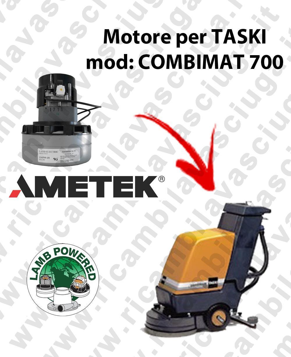 COMBIMAT 700 LAMB AMETEK vacuum motor for scrubber dryer TASKI
