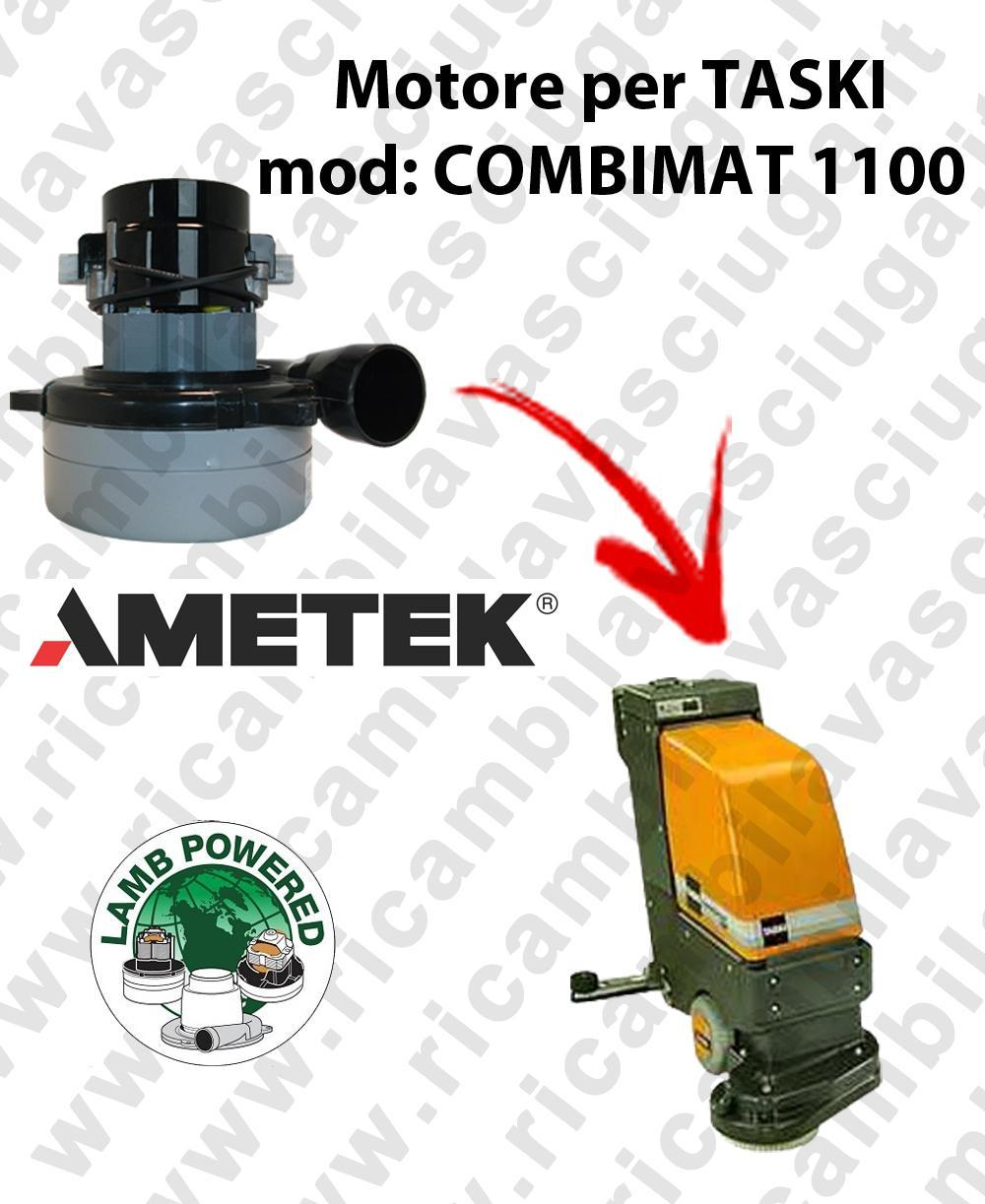 COMBIMAT 1100 LAMB AMETEK vacuum motor for scrubber dryer TASKI