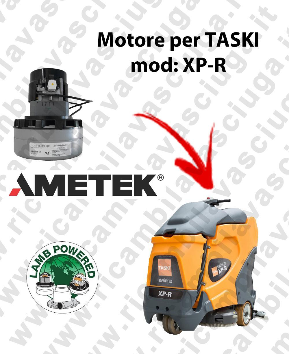 XP-R LAMB AMETEK vacuum motor for scrubber dryer TASKI