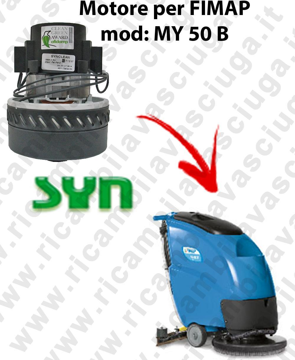 MY 50 B Vacuum motor SY N for scrubber dryer Fimap
