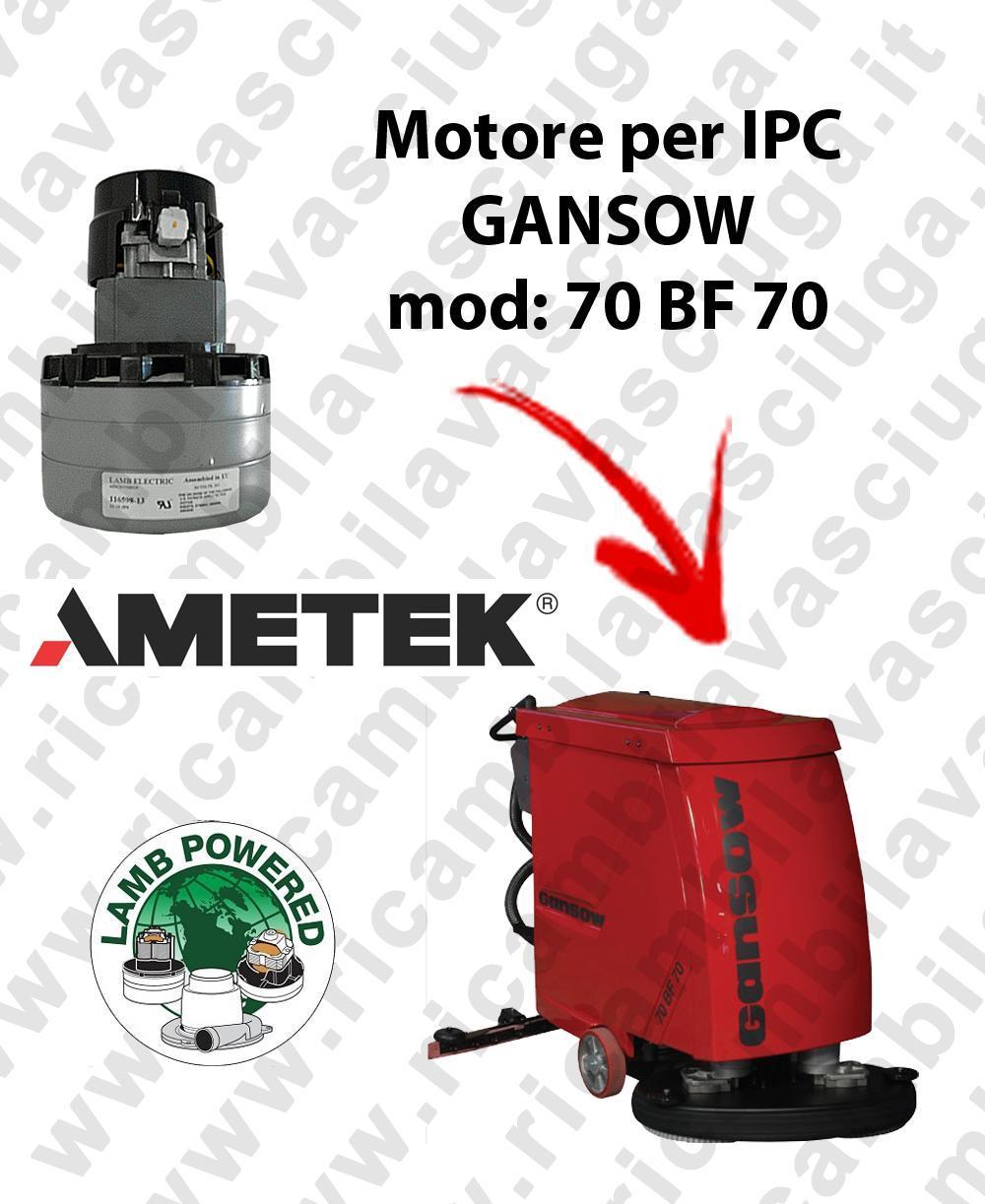70 BF 70 LAMB AMETEK vacuum motor for scrubber dryer IPC GANSOW