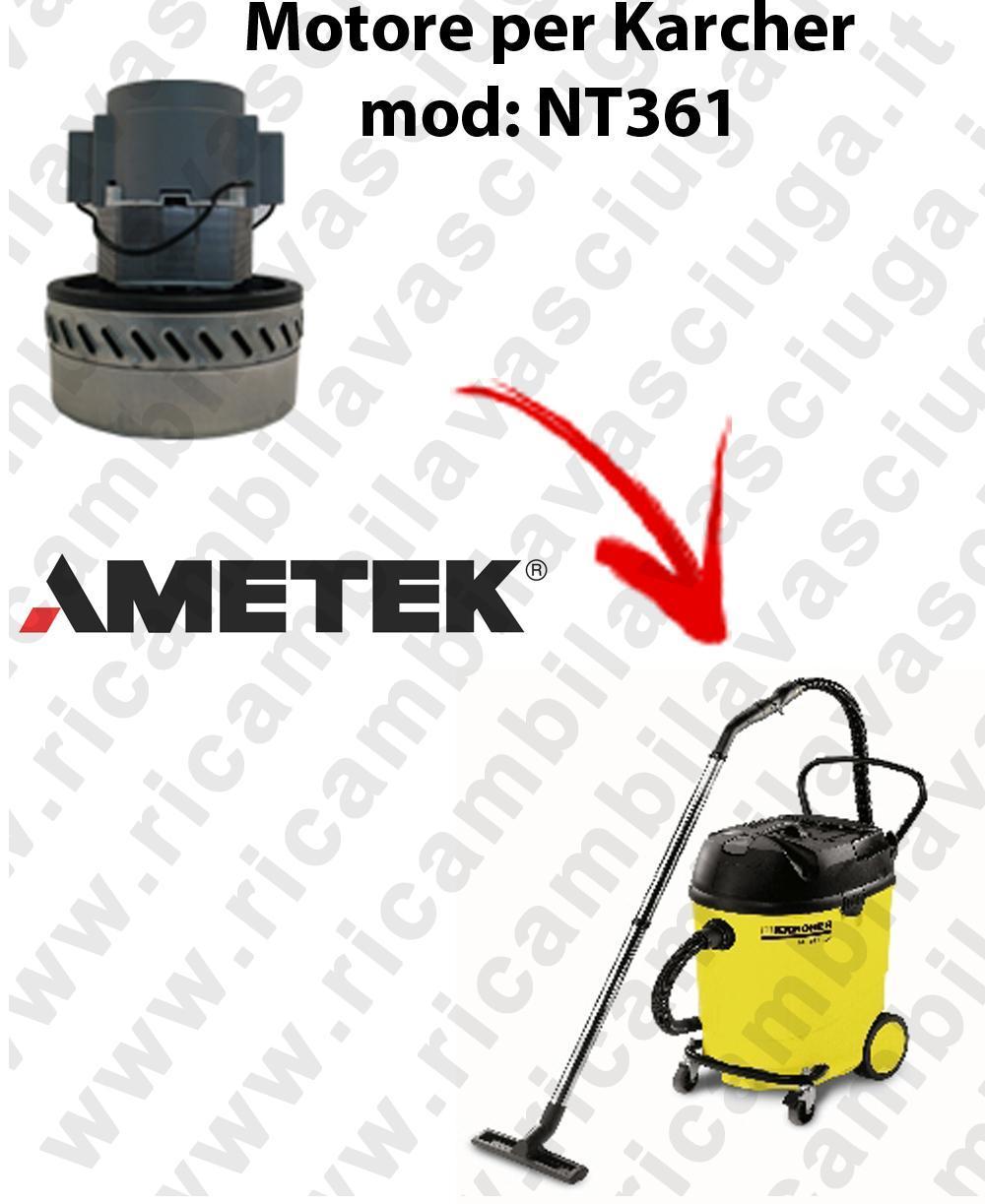 NT361 Ametek Vacuum Motor for vacuum cleaner KARCHER