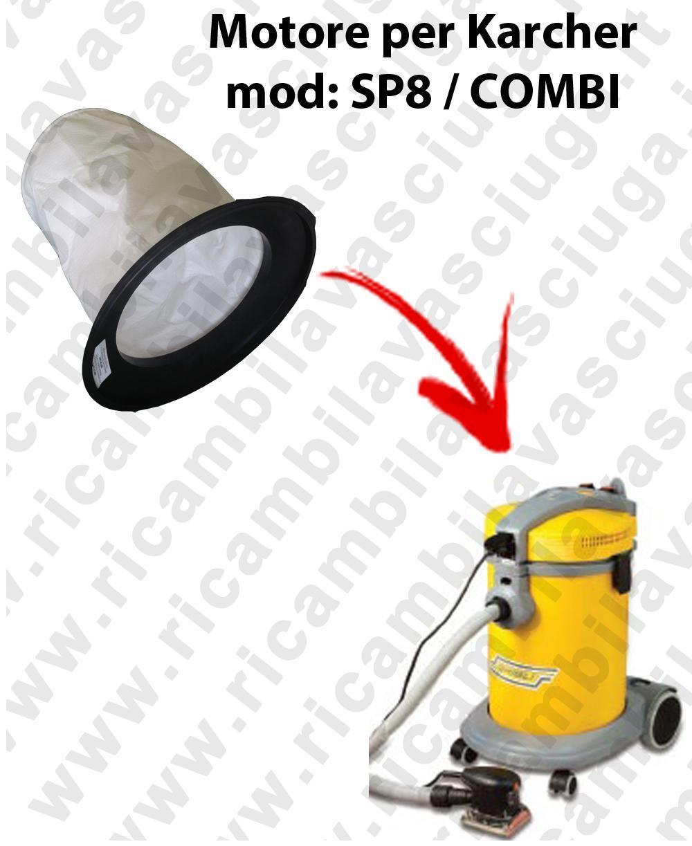 Canvas filter for vacuum cleaner GHIBLI Model SP 8 / COMBI