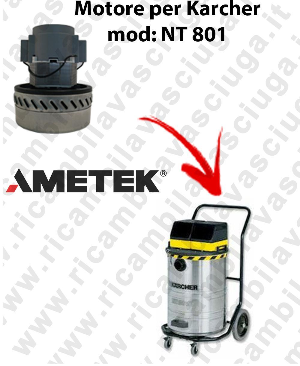 NT 801 Ametek Vacuum Motor for vacuum cleaner KARCHER