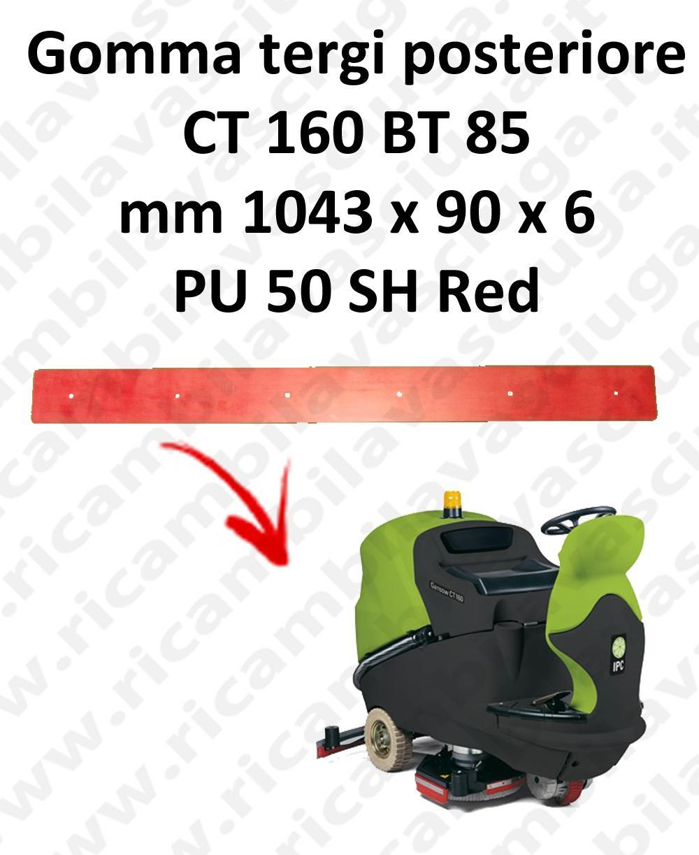 CT 160 BT 85 Back Squeegee rubber for squeegee IPC