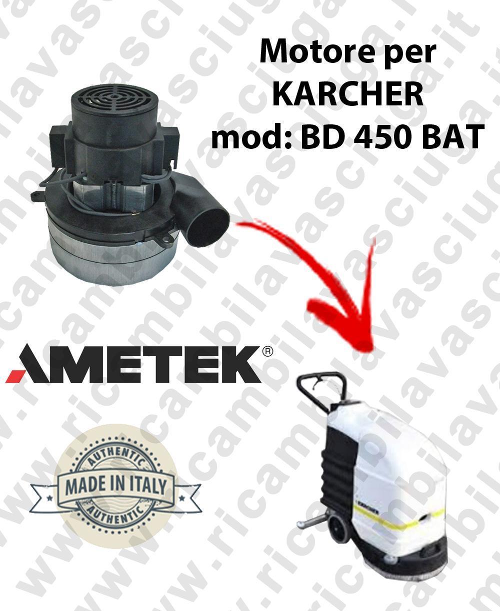 BD 450 Ametek vacuum motor for scrubber dryer KARCHER