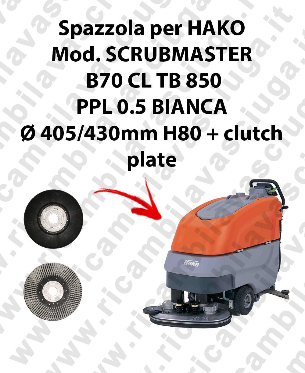 Hako Scrubmaster B70 Scrubber: Cleaning Brush For Scrubber Dryer HAKO Model SCRUBMASTER
