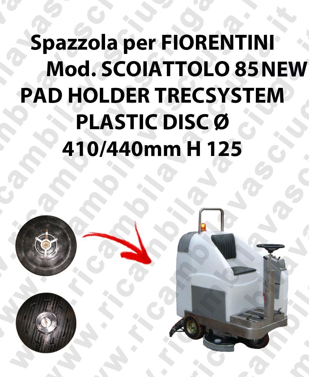 PAD HOLDER TRECSYSTEM  for scrubber dryer FIORENTINI Model SCOIATTOLO 85 NEW