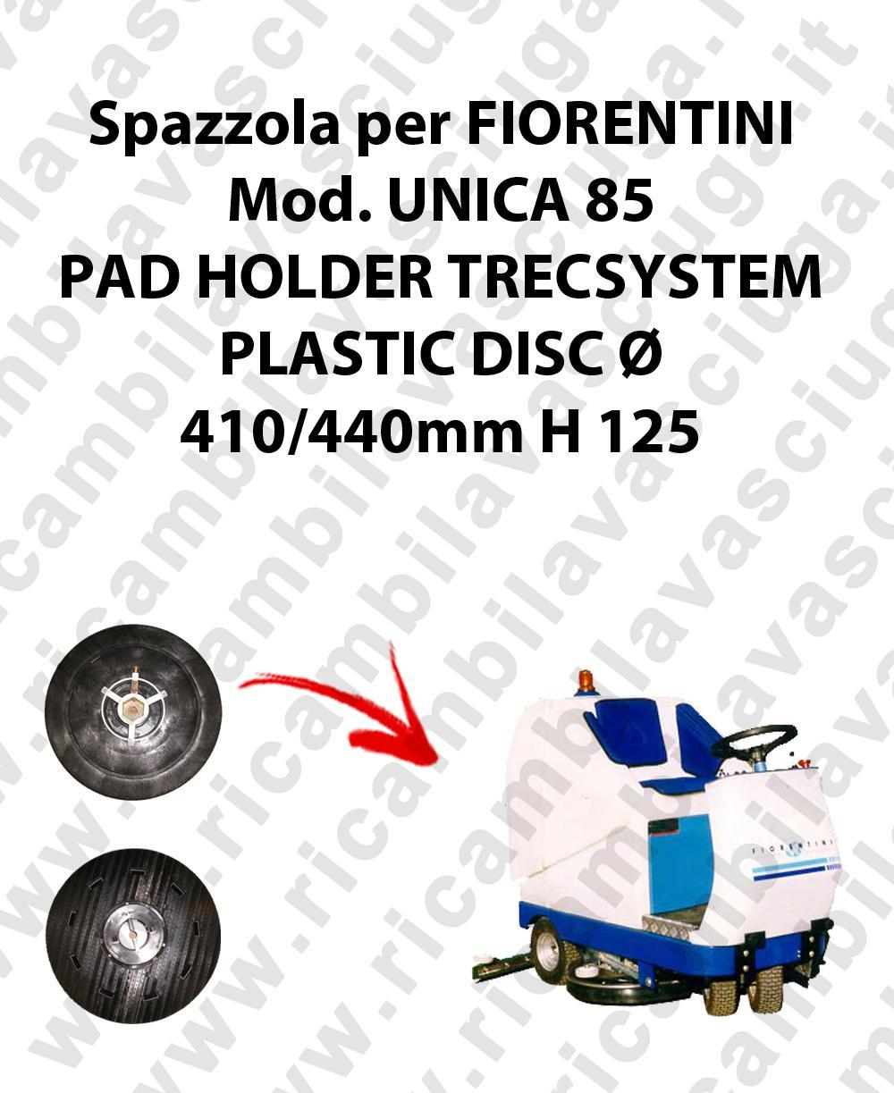 PAD HOLDER TRECSYSTEM  for scrubber dryer FIORENTINI Model UNICA 85