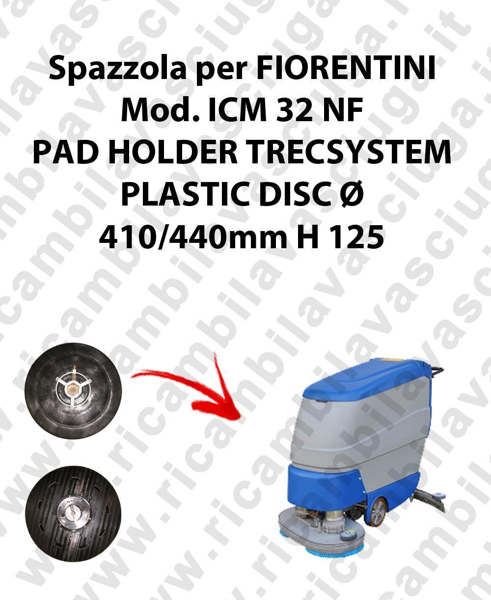 PAD HOLDER TRECSYSTEM  for scrubber dryer FIORENTINI Model ICM 32 NF