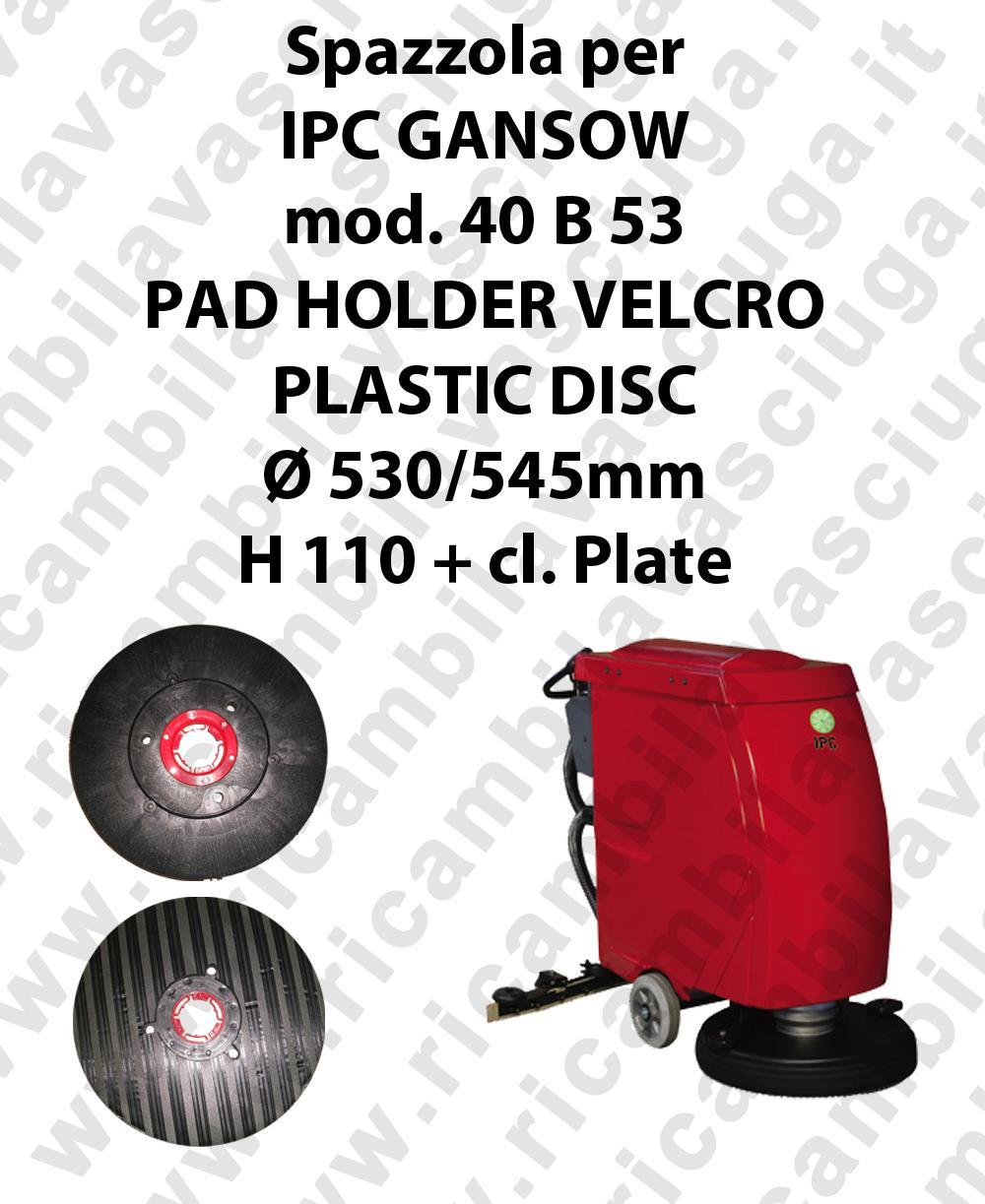 PAD HOLDER VELCRO for scrubber dryer GANSOW Model 40 B 53