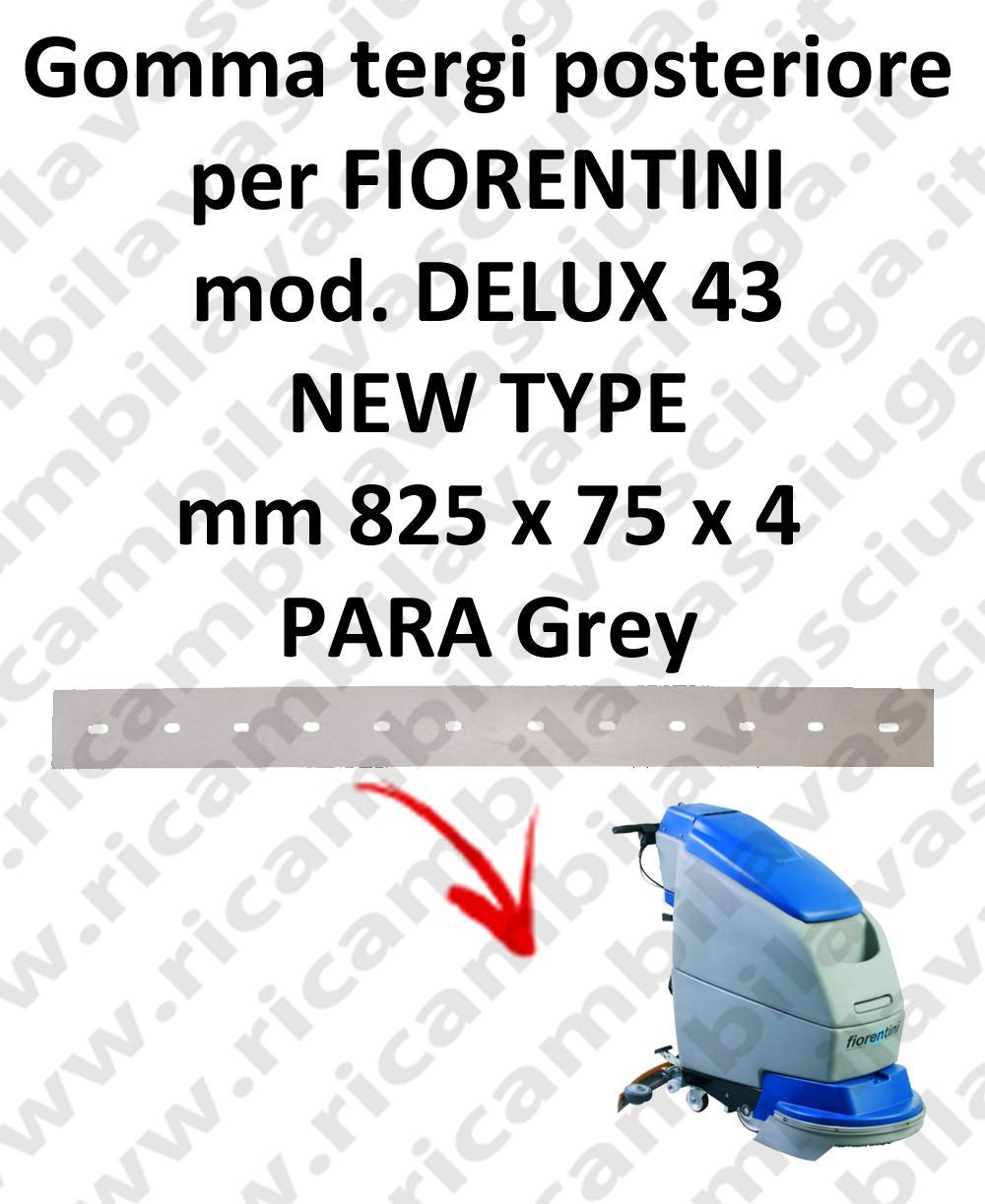 DELUX 43 new type Back Squeegee rubberfor FIORENTINI squeegee