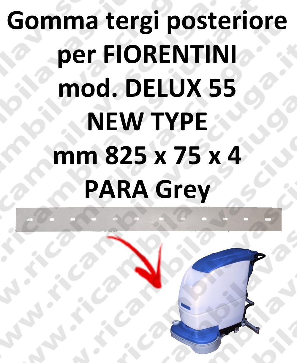 DELUX 55 new type Back Squeegee rubberfor FIORENTINI squeegee