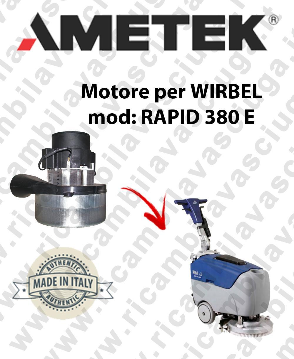 RAPID 380 E Ametek vacuum motor for scrubber dryer WIRBEL