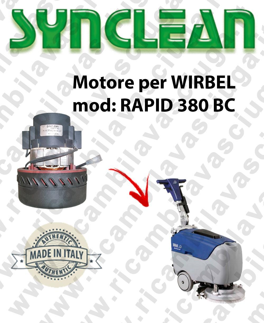 RAPID 380 BC Vacuum motor Synclean for scrubber dryer WIRBEL