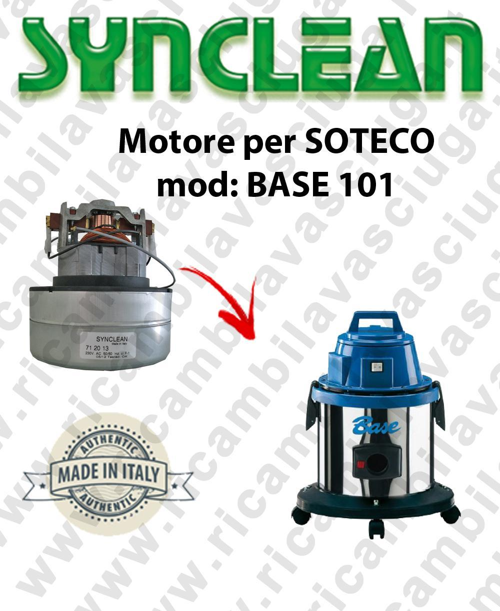 BASE 101 Vacuum motor SY NCLEAN  for vacuum cleaner SOTECO