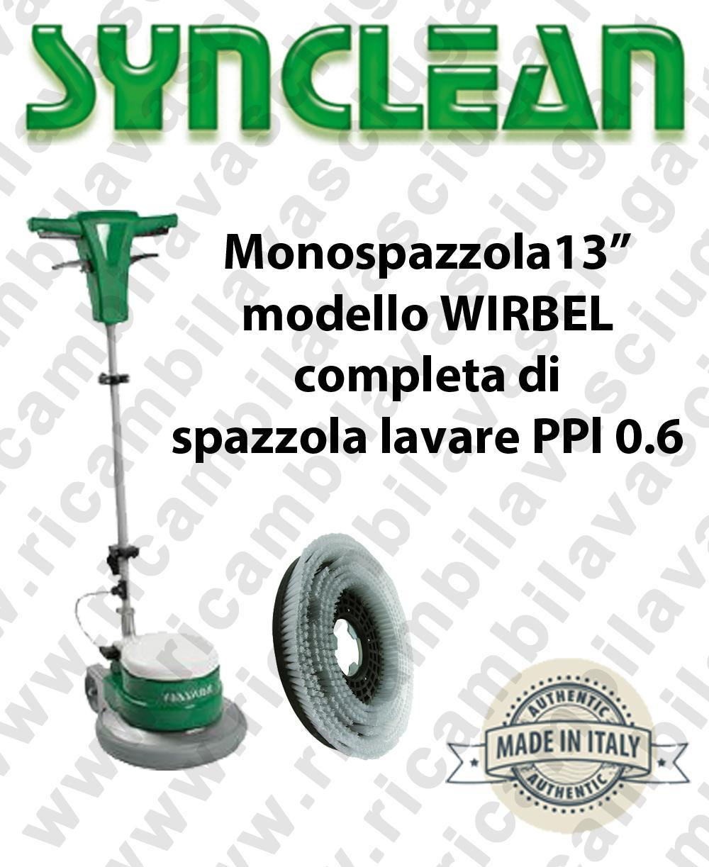 Single disc MAXICLEAN 13 inch - SYNCLEAN