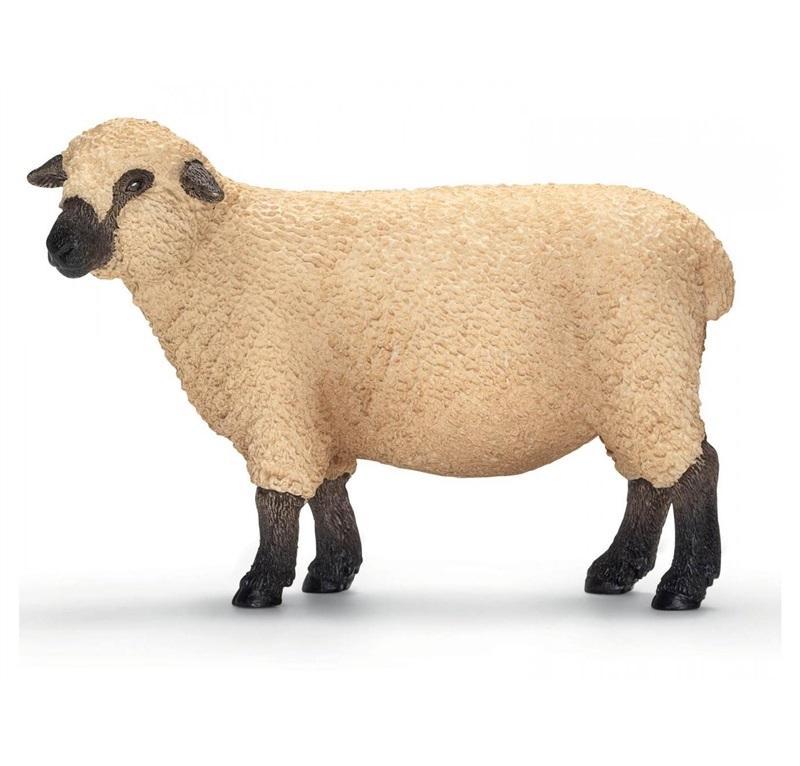 SCHLEICH FARM LIFE ANIMALI DELLA FATTORIA PECORA SHROPSHIRE 13681