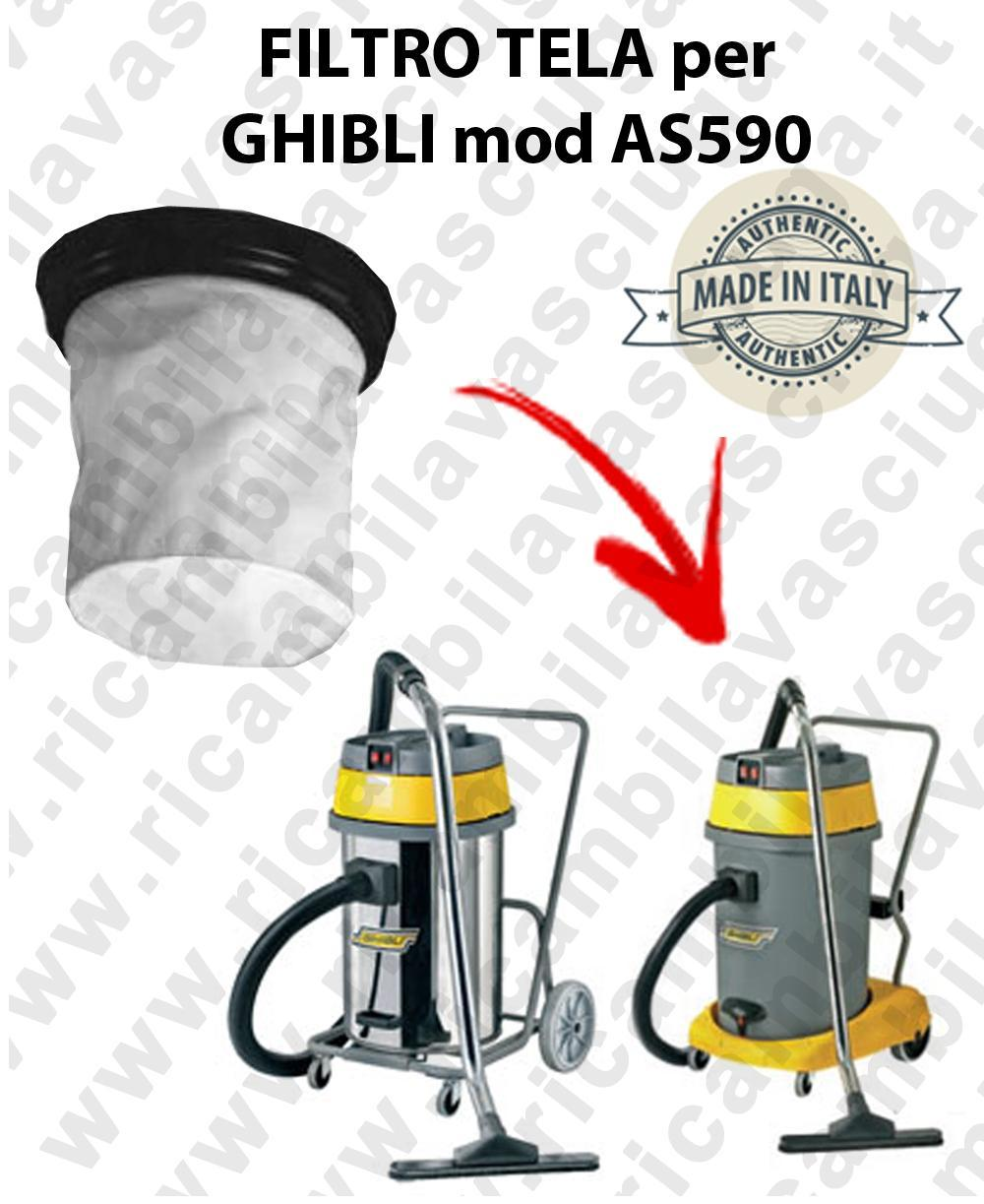 Canvas filter for vacuum cleaner GHIBLI Model AS 590