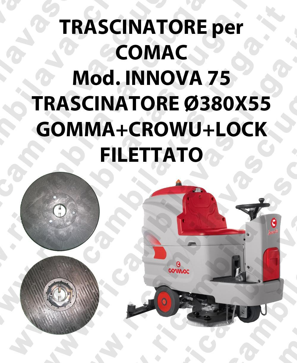 Padholder for scrubber dryer COMAC model INNOVA 75