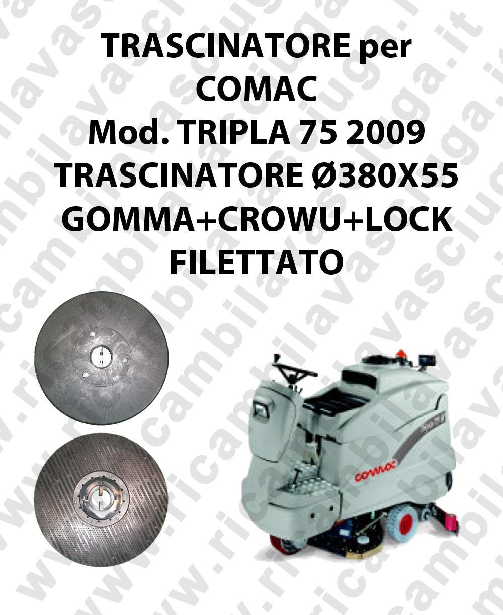 Padholder for scrubber dryer COMAC model TRIPLA 75 2009