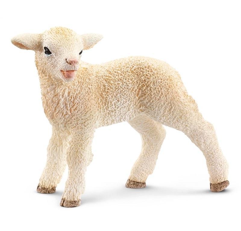 SCHLEICH FARM LIFE ANIMALI DELLA FATTORIA AGNELLO 13744