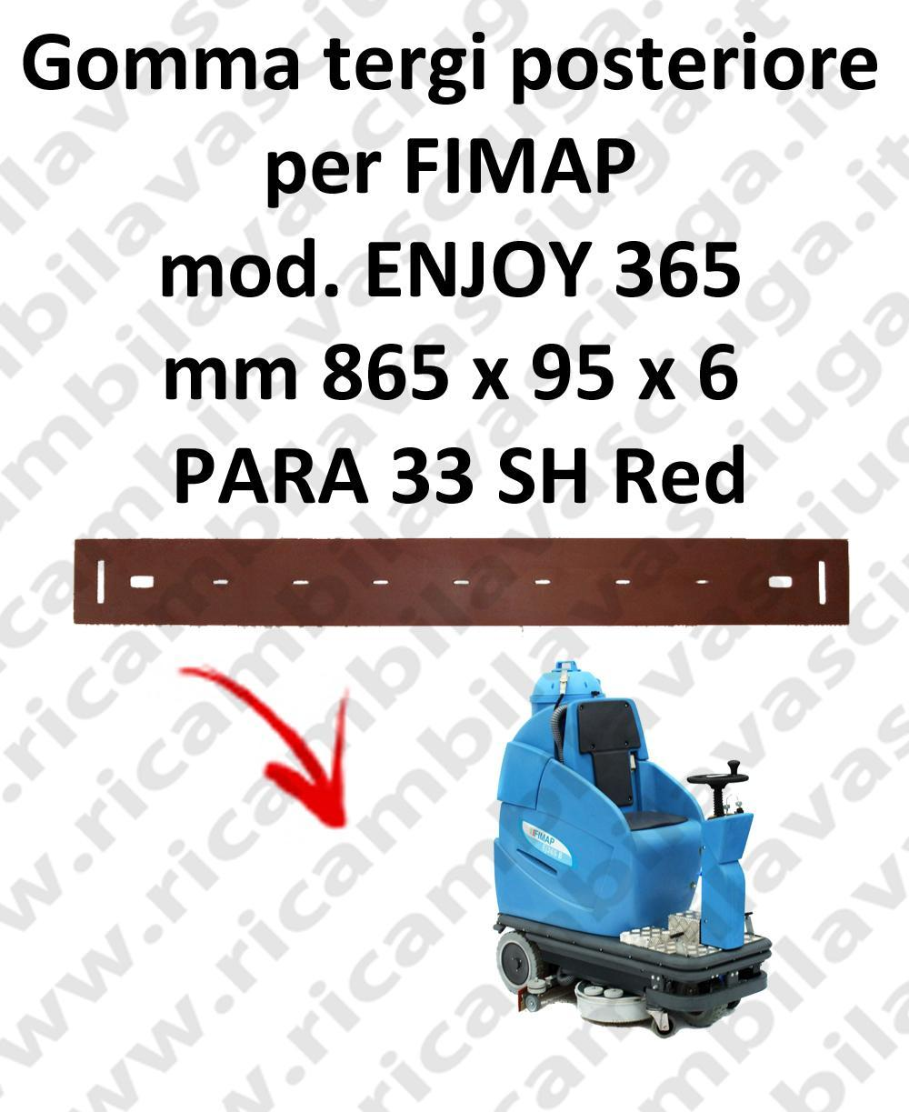 ENJOY 365 squeegee rubber back for FIMAP