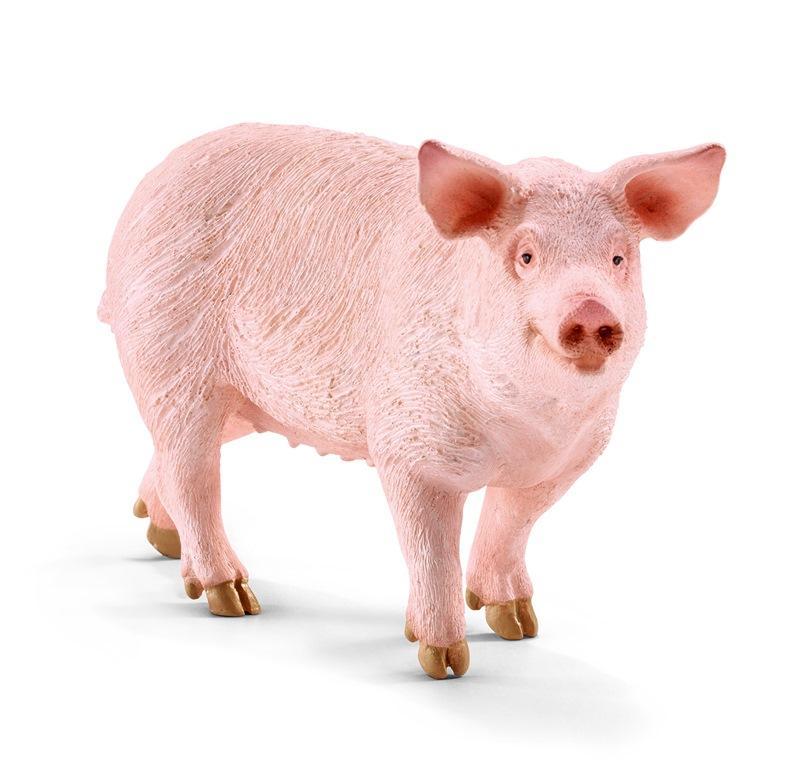 SCHLEICH FARM LIFE ANIMALI DELLA FATTORIA MAIALE 13782