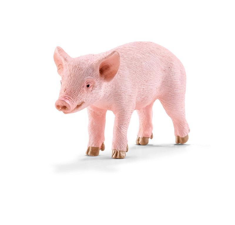 SCHLEICH FARM LIFE ANIMALI DELLA FATTORIA MAIALINO IN PIEDI 13783