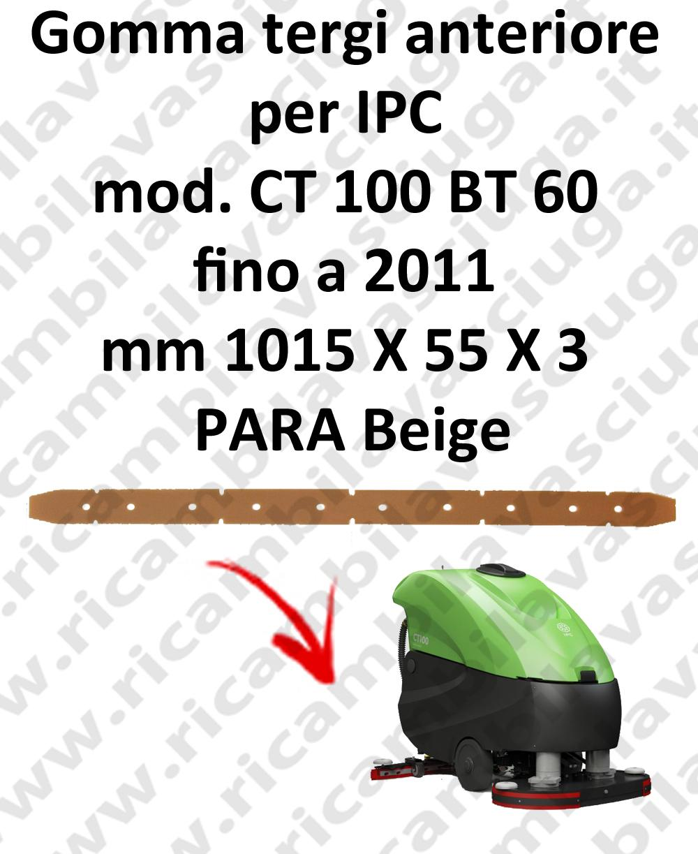 CT 100 BT 60 till 2011 Front Squeegee rubber for IPC