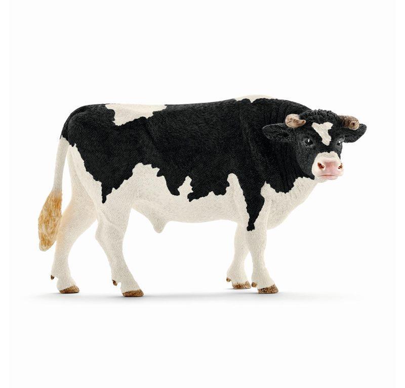 SCHLEICH FARM LIFE ANIMALI DELLA FATTORIA TORO HOLSTEIN 13796