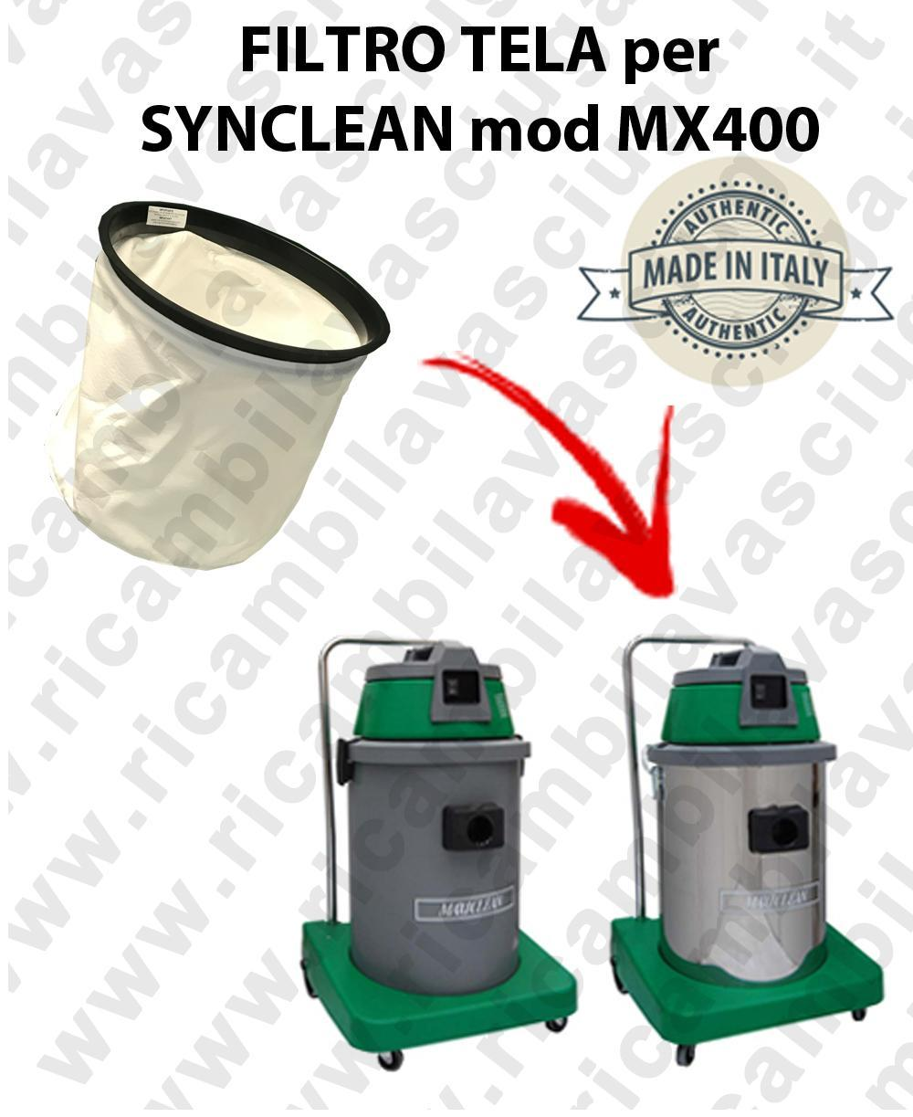 Canvas filter for vacuum cleaner SYNCLEAN model MX 400