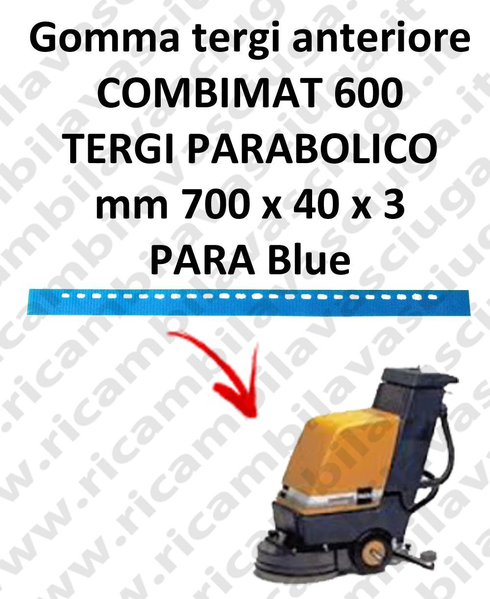 COMBIMAT 600 squeegee rubber scrubber dryer front for TASKI