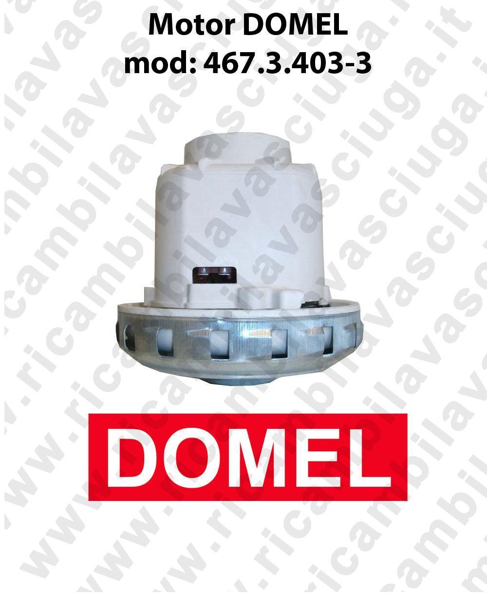 DOMEL 467.3.403-3 Vacuum motor for scrubber dryer e vacuum cleaner