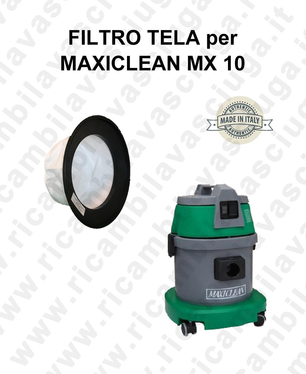 Canvas filter for vacuum cleaner MAXICLEAN model MX 10