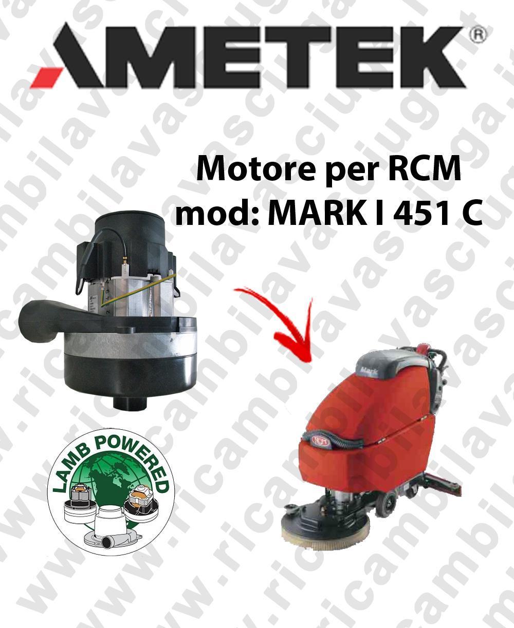 MARK I 451 C Ametek Vacuum Motor aspirazione scrubber dryer RCM