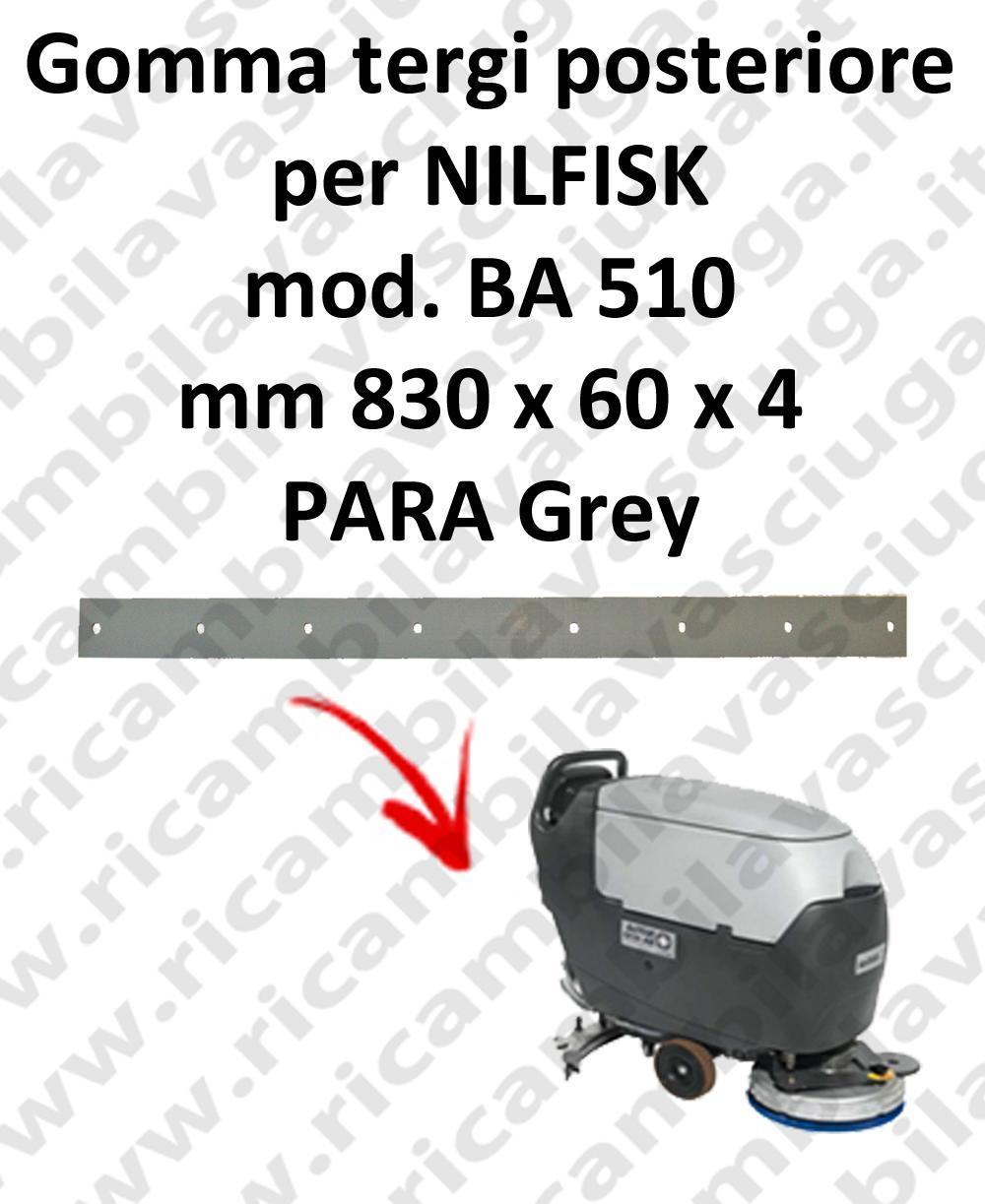BA 510 squeegee rubber back for scrubber dryer Nilfisk