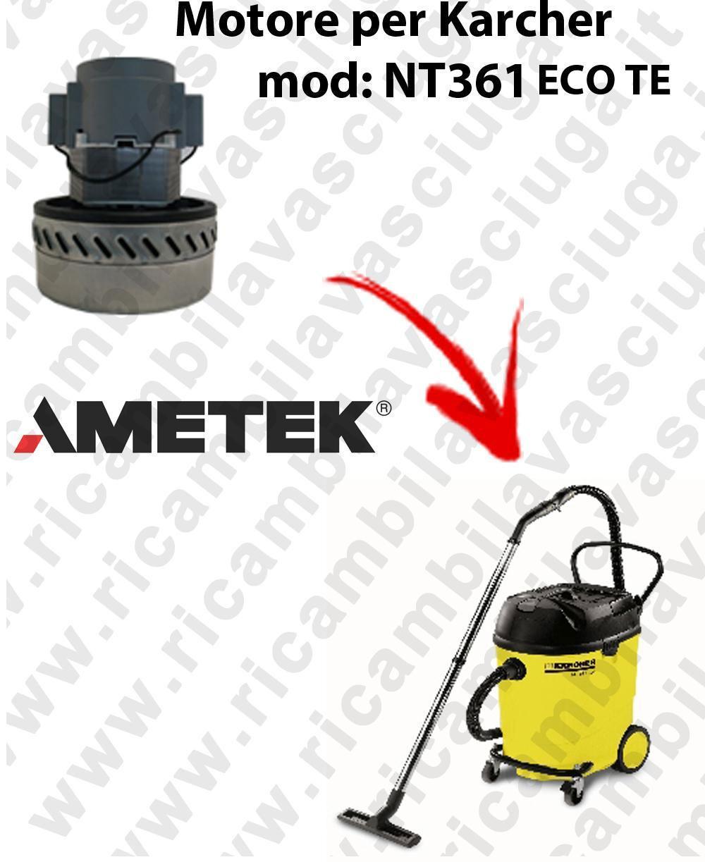 NT361 ECO TE Ametek Vacuum Motor  for vacuum cleaner KARCHER
