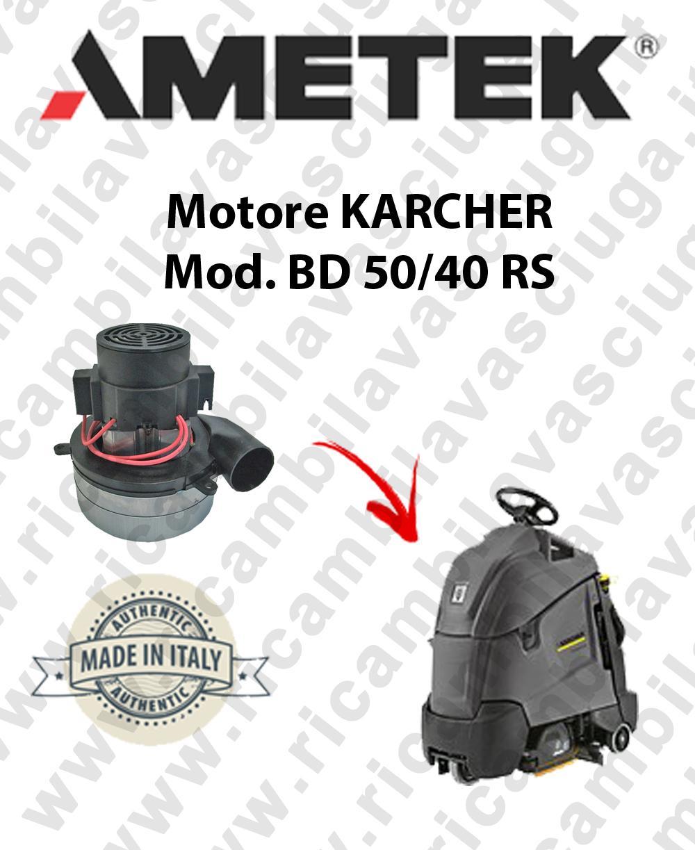 BD 50/40 RS Ametek Vacuum Motor scrubber dryer KARCHER