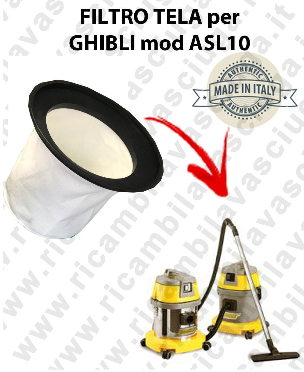 Canvas filter for vacuum cleaner GHIBLI model ASL10