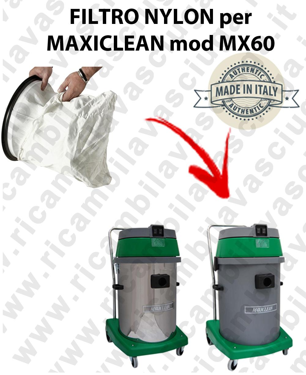 NYLON filter bag cod: 3001220 for vacuum cleaner MAXICLEAN model MX60 BY SYNCLEAN