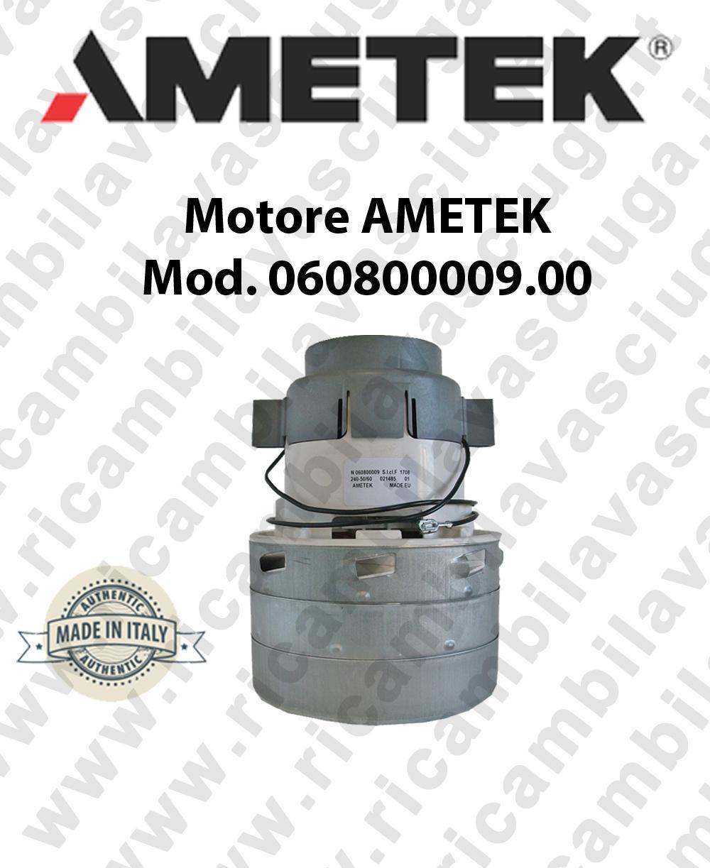 Ametek Vacuum Motor ITALIA 060800009.00 for central vacuum system